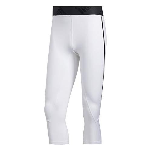 adidas Primeblue 34 Leggings 3 4 da Uomo, Uomo, GD8679, Bianco, M