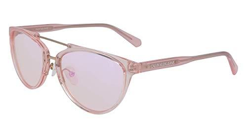 Calvin Klein JEANS EYEWEAR CKJ19518S Gafas de Sol, Rosa, 5717 para Mujer