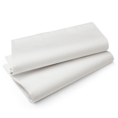 Duni 164170 Evolin Tischdecken weiß