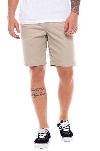 Vans VN0A2ZY9YKD_34 Pantalones Cortos, Grey, Hombre