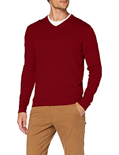 Esprit Herren 090EE2I306 Pullover, Rot (624/GARNET RED 5), X-Large