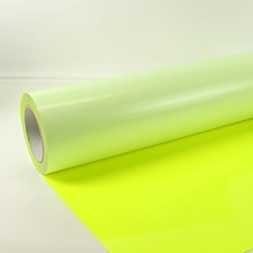 53,00€/m² 0,3m x 0,5m Poli-Flex Premium Folie Neon Gelb 440 Flexfolie Buegelfolie Poli-Flex