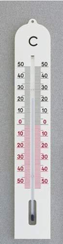 THERMOMETER BUITEN METAAL WIT 40 CM MT 102045 (10)