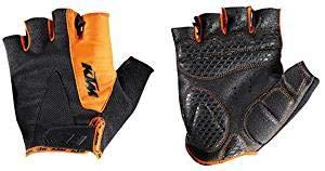 KTM MTB Kurzfinger Handschuhe Gr. XL - Schwarz/Orange