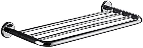 Toallero de Acero Inoxidable 304 para Montaje en Pared Redondo para baño o Cocina (40 cm) Toallero