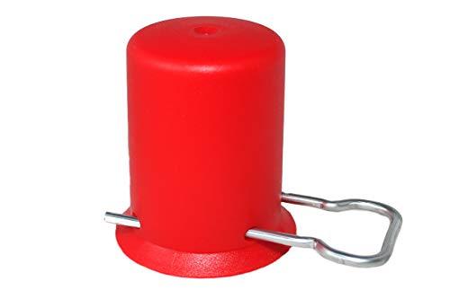 campcooga Flaschenkappe für 5kg BZW. 11kg Propangasflasche Rot Schutzkappe Gasflasche