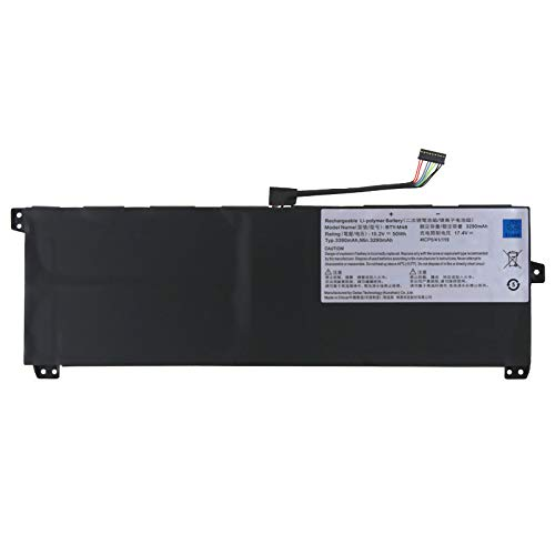 7XINbox BTY-M48 15.2V 50Wh / 3390mAh batería Reemplazo para MSI PS42 8RB 8RA 8RC para MECHREVO S1 S1-C1 4ICP5 / 41/119