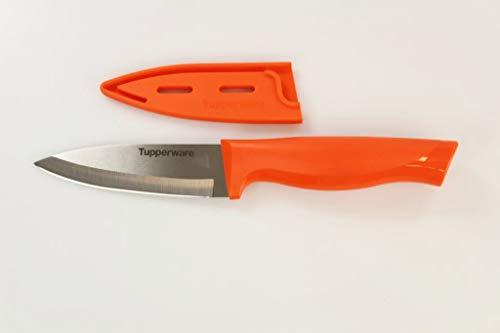 TUPPERWARE mes Essential-serie oranje universeel mes