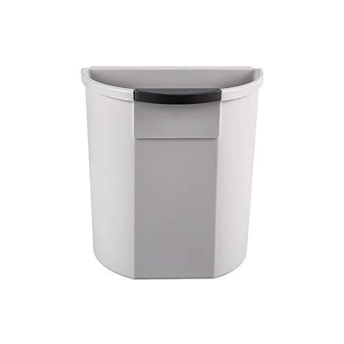 UANDM opbergdoos opknoping keuken prullenbak vuilnisbak opbergmand keuken kast deur opknoping plantaardig schil plastic Sundries doos grijs eenvoudig ontwerp