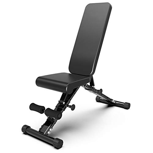 Purchase DUOER home Adjustable Bench,Foldable Slant Board Ab Crunch Board Adjustable Workout Fitness...