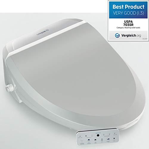 Dusch-WC Elektronischer Toiletten-Sitz mit Fernbedienung, Intimdusche Analreinigung, UB-7035R Comfort