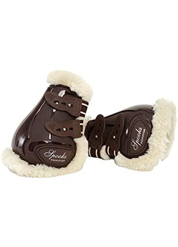 SPOOKS Fetlock Boots Teddy (Farbe: brown; Größe: full)