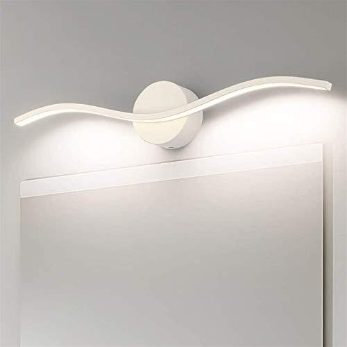 Leifeng Tower Luz blanca cálida blanca de 60 cm 12 W con espejo LED para baño a prueba de humedad