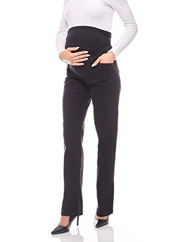 9 Monate Umstandsmode Umstandshose Umstandsjeans Schwangerschaft schwarz Jeans
