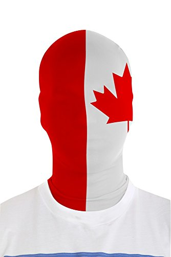 Morphsuits MMFCA MorphMask Canadese vlag ontwerp