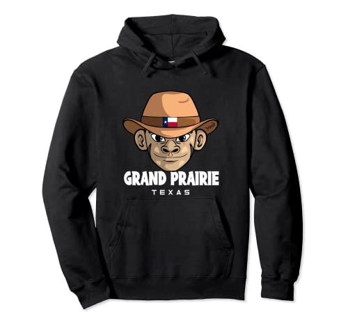 Grand Prairie Texas Pullover Hoodie
