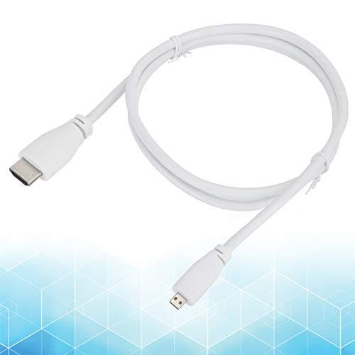 Zwinner Micro-HDMI-Kabel für Raspberry Pi, PVC-Micro-HDMI-Kabel, Micro-HDMI-Kabel, PC für Computer Raspberry Pi 4B Daily Needs
