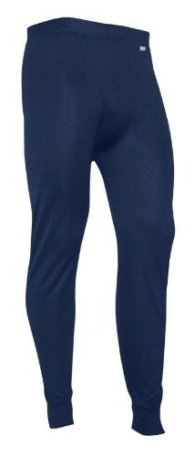 Polarmax Men's Mid Weight Double Base Layer Pant (Indigo, XX-Large)