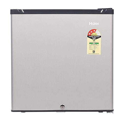 Haier 52 L 3 Star ( 2019 ) Direct Cool Single Door Refrigerator(HR-62VS, Silver)