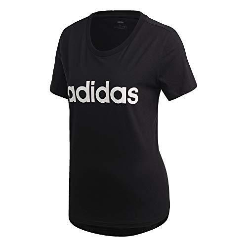 Adidas Performance T-shirt »essentials Linear T-shirt« Türkis