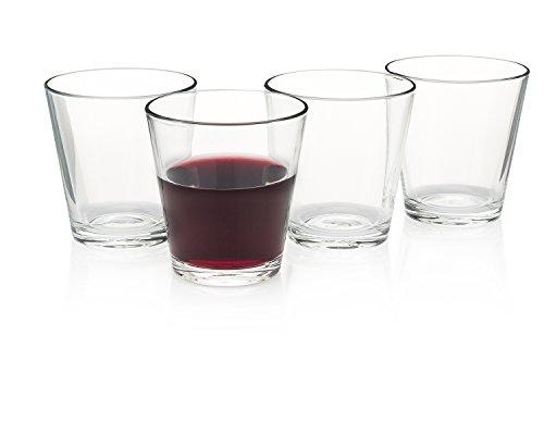 """Enoteca"" Italian Wine Bar Stemless Wine Glass (Gift Box Set of 4)"