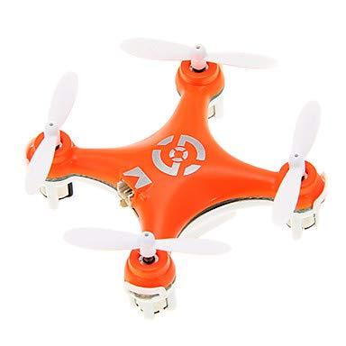 RC Dron Cheerson CX-10 RTF 4 Canales 6 Ejes 2.4G Quadccótero de radiocontrol Vuelo Invertido De 360 Grados / Al Revés Vuelo / Posicionamiento Visión Quadcopter RC / Mando A Distancia / Cable USB