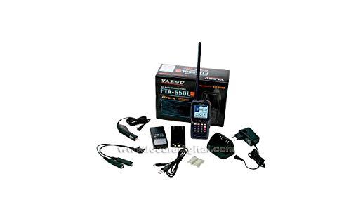 YAESU FTA-550L - Ricevitore a banda aerea 108-136, canali 200 VOR/ILS