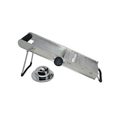 "Update International (MS-SS) 17"" Stainless Steel Mandoline Slicer"