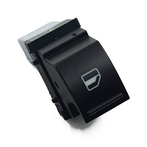 LiCHANGZHU LCBIAO Interruptor de Ventana eléctrica Fit para Volkswagen Caddy 2K EOS Golf 5 6 GTI P/ASSAT B6 CC Tiguan Seat Ibiza Leon Altea Toled 1k3 959 857a