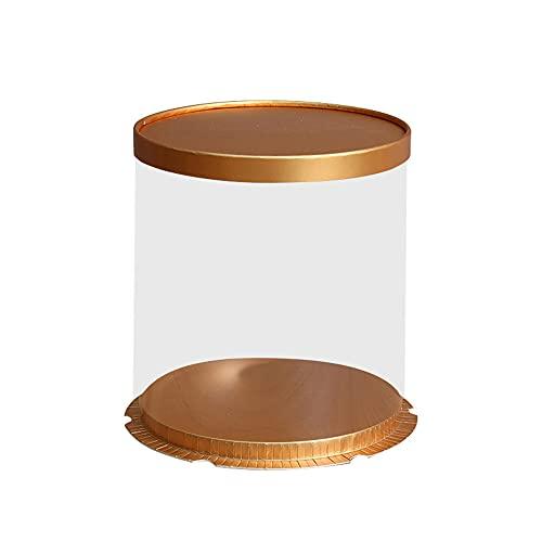 Caja de regalo para magdalenas, caja de regalo de 25,4 cm, es fácil de montar, engrosar para joyas, documentos, cumpleaños, fiestas, bodas, regalos