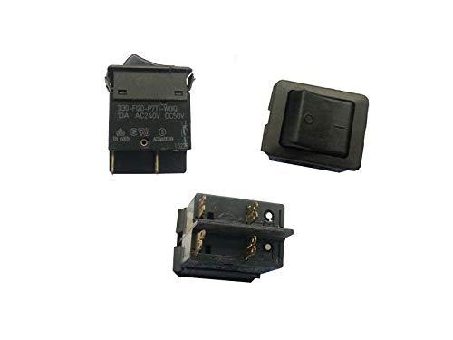 1 interruptor basculante de 4 pines E-T-A 3130-F120-P7T1-W01Q 10A240V