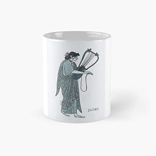 Taza clásica Sappho | Mejor regalo divertido tazas de café 11 oz