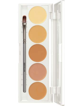 Dermacolor Camouflage Quintett Palette, Farbsortierung:DQ 3