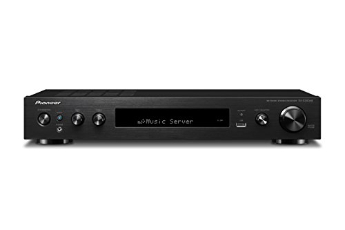 Pioneer Stereo Receiver, SX-S30DAB-B, Bluetooth, WLAN, Streaming, Musik Apps (Spotify, Deezer u.a.), DAB+, Dolby TrueHD, High-Res Audio, 85 Watt/Kanal, Front USB/Audio in, HDMI, Schwarz