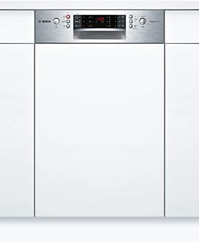 Bosch SPI66TS00E Serie 6 Geschirrspüler Teilintegriert / A++ / 45 cm / Edelstahl / 211 kWh/Jahr / 10 MGD / SuperSilence / EmotionLight / VarioSchublade Pro
