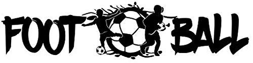 Fútbol – 3D Ball Goal Kick Player Hobby Sport Ball Goals Game Niños Love Life Family Life Kids Funny Cote Wall stikers calcomanía para pared con cita