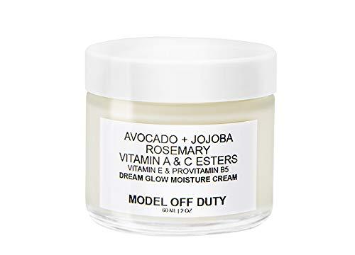 Model off Duty Beauty Dream Glow Moisture Cream   Anti Aging Face Cream, Neck Cream, Vitamin C Cream, Vitamin E Cream   Natural Face Moisturizer For Acne Scar Removal, Dark Circles & Wrinkle   2.0 oz