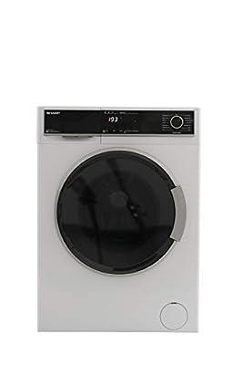 Sharp ES-HFB914AW3-EN 9KG Allergy Smart Washing Machine with Advanced Inverter Motor, White