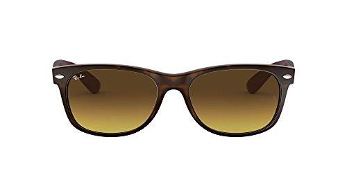 Ray Ban Unisex Sonnenbrille RB2132, Gr. 52mm (Gestell: Braun, Havanna Gläser: braun verlauf dunkelbraun)