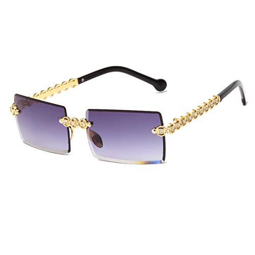 Long Keeper Gafas de sol rectangulares para Mujer Vintage Gafas Sol Cuadradas...