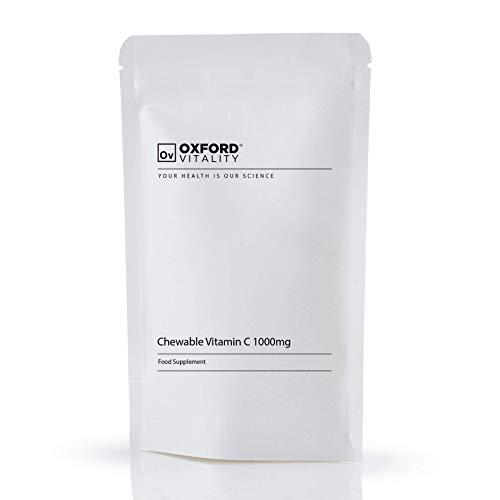 Chewable Vitamin C 1000mg 90 Tablets : High Strength Ascorbic Acid Immune Health