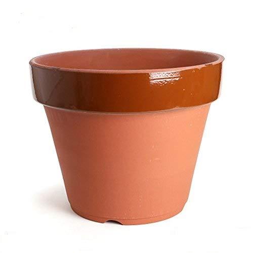 鉢KANEYOSHI【日本製/安心の国産品質】陶器植木鉢駄温鉢深15号