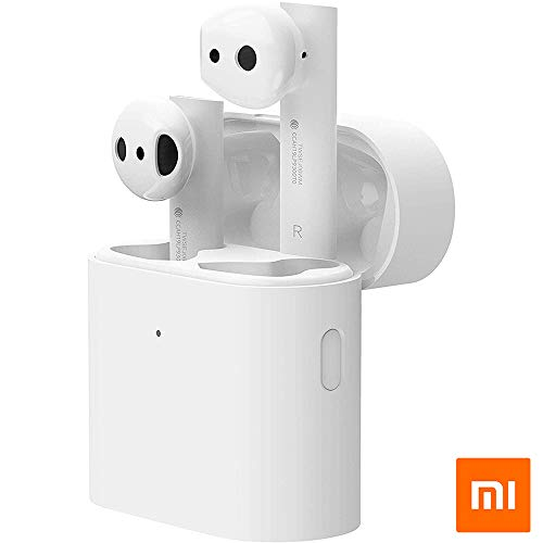 Xiaomi Mi True Wireless Earphones 2, kabellose Kopfhörer, Bluetooth 5.0, Double-Tap-Steuerung, Audio Codec SBC, AAC, LHDC, kompatibel mit iOS und Android (Global-Version)