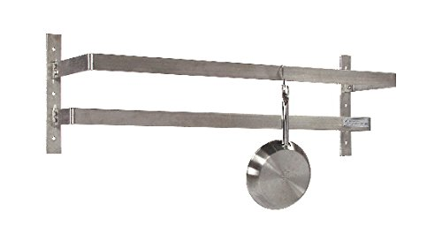 Tarrison Discount mail order WPR96 Stainless Steel Wall Mount Hooks Max 84% OFF Pot 16 Rack with