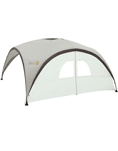 Coleman Side Panel for Event Shelter XL and Event Shelter Pro XL 4.5 x 4.5 m, Gazebo Side Panel with Windows and Door, Sun Protection, Water Resistant