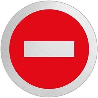 OFFORM Señal pictograma en acero inox Ø 75mm No.39257