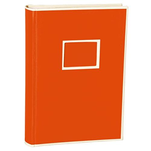 Semikolon (351127) 300 Pocket Album orange (orange) - Fotoalbum/Fotobuch mit Einschubtaschen für 300 Bilder im Format 10x15 cm - 3 Bilder pro Seite