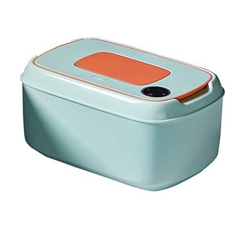 LUO Calentadores de toallitas Caja de Calentamiento de Tejido húmedo portátil, con botón para Abrir la Tapa, limpiadores más cálidos, listos para Usar y Dibujar, Ahorro de energía en casa