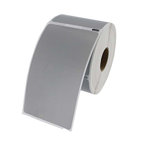 Dymo Compatible 30256 Gray Shipping Labels 300 Labels per roll, 1 roll per Package
