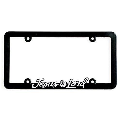 Dicksons Jesus is Lord License Plate Frame - Black